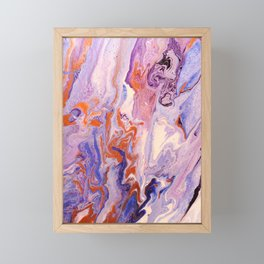 Faeries in the Water Framed Mini Art Print