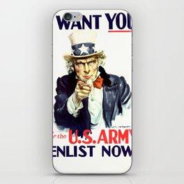 Uncle Sam iPhone Skin