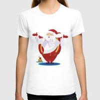 santa T-shirts featuring Santa by rusanovska