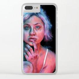 Tanya II Clear iPhone Case