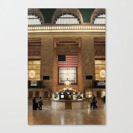 United Station ∆ Canvas Print