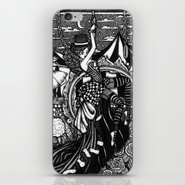 Dark Circus iPhone Skin