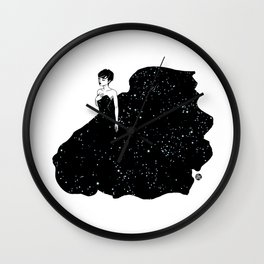 Lady of the Stars Wall Clock