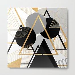 Deltamatic Metal Print