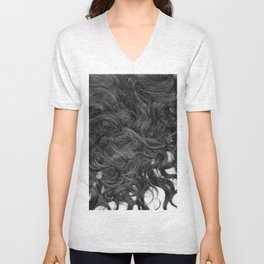 beautiful hairs Unisex V-Neck