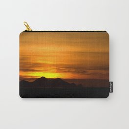 Sunset and Vestmannaeyjar 3 Carry-All Pouch