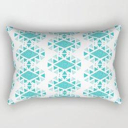Monlay Turquoise Rectangular Pillow