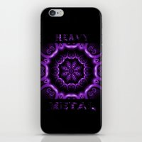 heavy metal iPhone & iPod Skins featuring Heavy Metal by inkedsandra