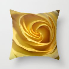 Creme de Rose  1213 Throw Pillow