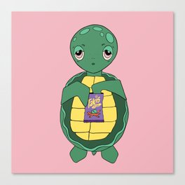 turtles and taki Canvas Print