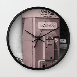 Old Drink Wall Clock
