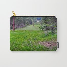 Deer in a Field Carry-All Pouch