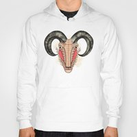 aries Hoodies featuring Aries by Vibeke Koehler