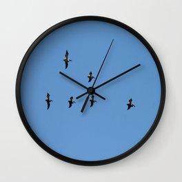Flight formation Wall Clock