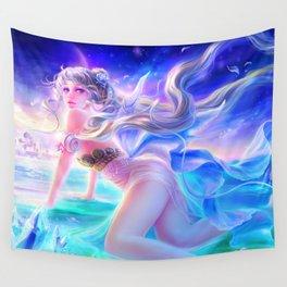Sleepless Nights-Princess Serenity Wall Tapestry
