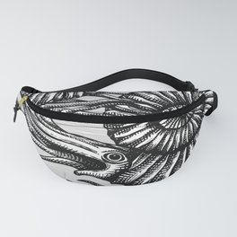AMMONITE COLLECTION B&W Fanny Pack