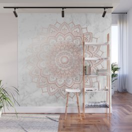Pleasure Rose Gold Wall Mural
