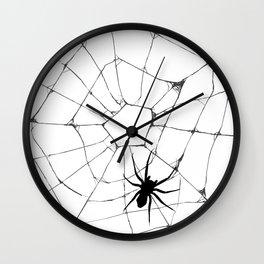 Spidey pattern Wall Clock