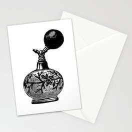 Vintge Perfume Atomizer Stationery Cards