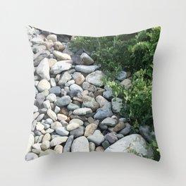 Seawall Throw Pillow