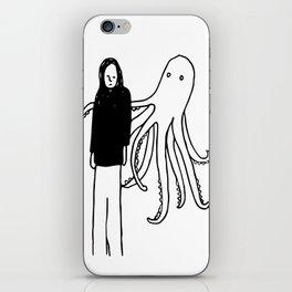 Octopus Hug iPhone Skin