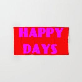 Happy Days 1 Hand & Bath Towel