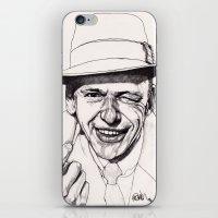frank iPhone & iPod Skins featuring Frank by Paul Nelson-Esch Art