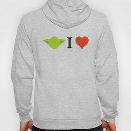 Yoda I Love Hoody