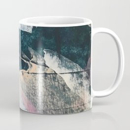 3 AM: a minimal, abstract piece in blue, pinks, and white by Alyssa Hamilton Art Coffee Mug