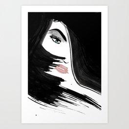 FaceEye Art Print
