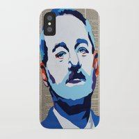murray iPhone & iPod Cases featuring Bill Murray by VenusArtist