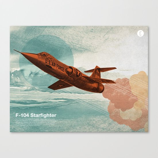 Starfighter Canvas Print