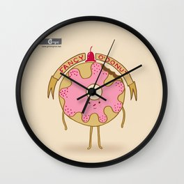 Fancy O´Donut Wall Clock