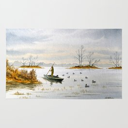 Duck Hunting - The Island Duck Blind Rug