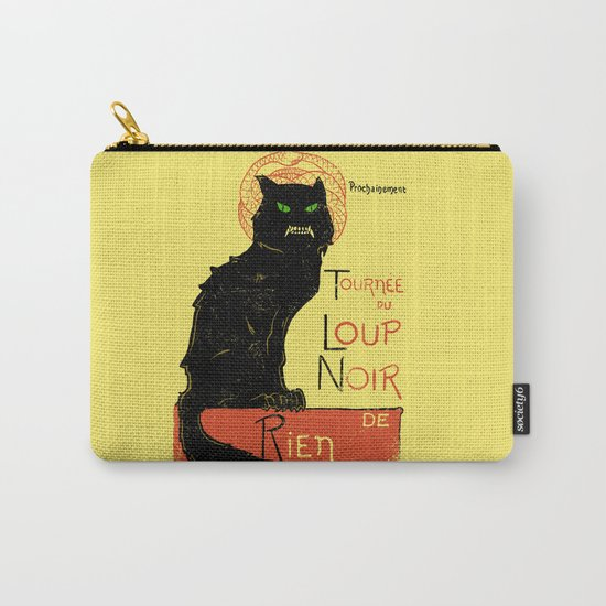 Loup Noir Carry-All Pouch
