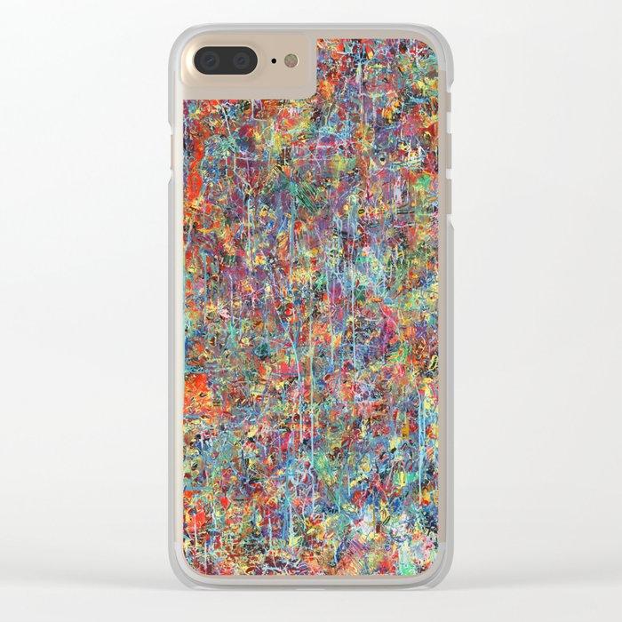 Acid Rain Clear iPhone Case