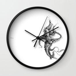 Black Ink Wall Clock