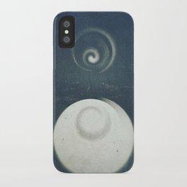 Niebieski iPhone Case