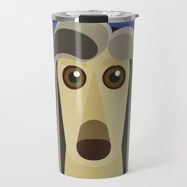 Afghan Hound Travel Mug