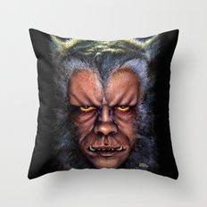 The Werewolf Curse Throw Pillow