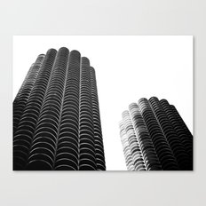 WHITEOUT: i miss you chicago Canvas Print