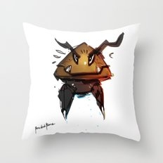 Goomba Evolution Fanart Throw Pillow