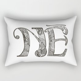 No. Rectangular Pillow