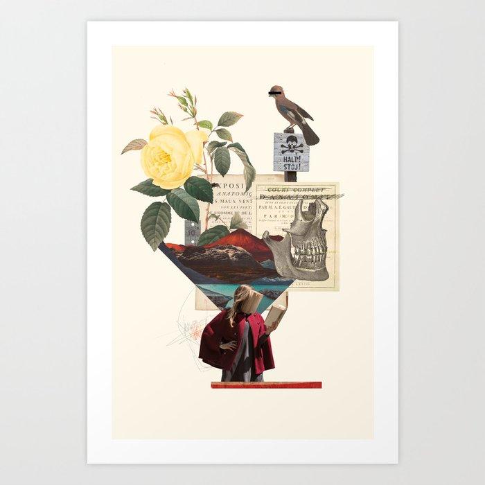 Book / Halt Art Print