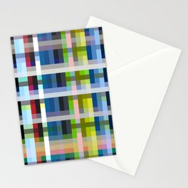 Nue - Colorful Decorative Abstract Art Pattern Stationery Cards