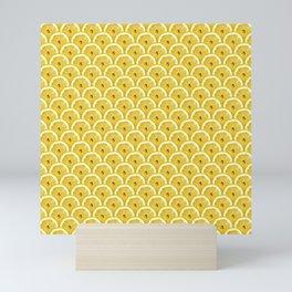 Lemons are watching you! – Strange Fruits Mini Art Print