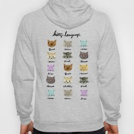 Kitty Language Hoody