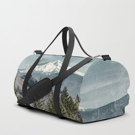 Frosty Mountain - Nature Photography Duffle Bag