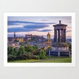 Calton Hill, Edinburgh, Scotland 2 Art Print