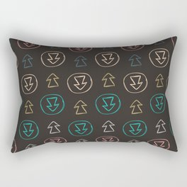 Which Way V.1 Rectangular Pillow